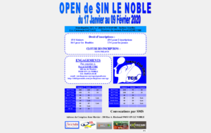 OPEN DE TENNIS DE SIN LE NOBLE